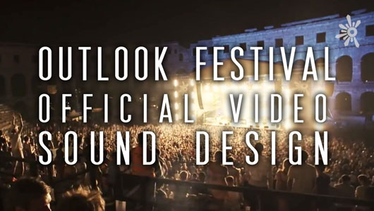 Cloudbreak Creative - Outlook Festival Sound Design Image